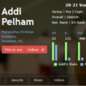 Addi Pelham is a MaxPreps player of the week!